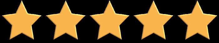 5 Gold Stars